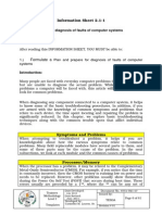 6 info sheets