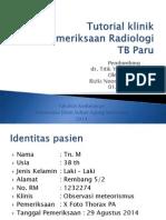 Tutorial Klinik TB PARU