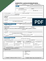 Registro y Actualizacion de Datos Sep Mexico