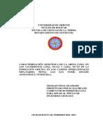 022-Tesis-Caracterizacion Geologica de La Arena L2M,L en Las Yacimientos