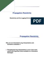 Propagation Resistivity