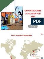 Exportaciones Asia