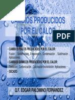 4 Ta Clase Cambios Producidos Por El Calor 2014-2