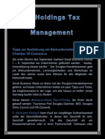 BP Holdings Tax Management