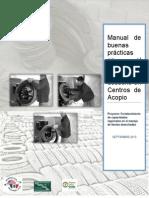 Manual de Buenas Practicas de Manejo de Llantas de Desecho en Centros de Acopio