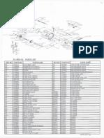 Okuma CL302L Parts List & Manual