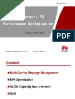 164162520 UMTS Network Performance Optimization Solution for Presentation