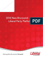 2014 Liberal Platform