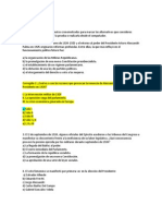 BATERIA PREGUNTAS 3m- Prueba 1 Presidencialismo y Gobiernos Radicales