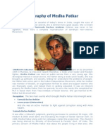 A Short Biography of Medha Patkar
