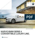 Ficha Tecnica BMW 428iA Convertible Luxury Line Automatico 2015