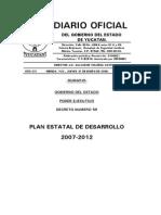Plan Estatal de Desarrollo 2007-2012