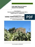 Appunti Verde Territoriale Bis (Da Stampare e Studiare)