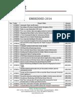 Embedded 2014 List