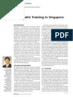 Specialist Training in Singapore