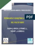 petrologaygeoqumicadelvolcnmisti