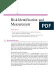 Risk Identification & Measurement