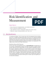Risk Identification & Measurement