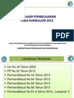 10. Penilaian Pembelajaran Pada Kurikulum 2013