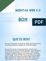 Herramientas Web 2.0 Box