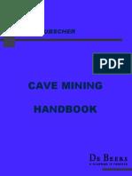 LAUBSCHER Updated Cave Mining Handbook