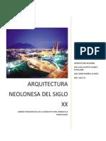 Arquitectura Neolonesa Del Siglo Xx