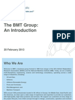 BMT Group - An Introduction