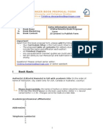 9010 Book Proposal Form