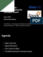 Spark Meet Up August 2014 Public