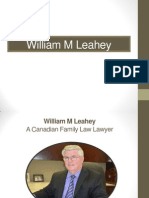 William M Leahey