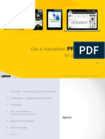 Get a Hackathon Prototype for New Product Ideas - UI UX