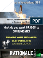 Standards-Based Grading - Presentation Slides