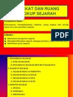 hakekatruanglingkupsejarahx-131204222441-phpapp01
