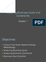 Chapter 01 - Analyzing Business Goals and Constraints