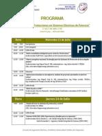 Programa Seminario Protecciones 2v 2014