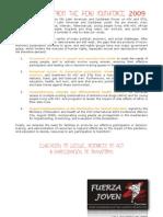 Peru YouthForce Declaration