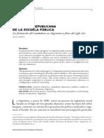 Función Republica de La Escuela en El Siglo Xix Lucía Liontetti