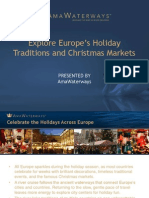 Explore Europe's Holiday Traditions and Christmas Markets