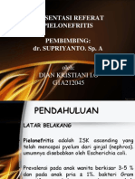 Presentasi Pielonefritis - Dian.k 2210