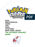 The Ultimate Emerald Guide