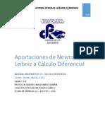 Aportaciones de Newton y Leibniz a Cálculo Diferencial