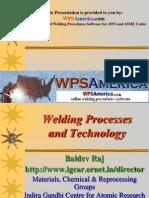 Welding Process and Technology Wpsamerica.com