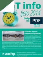 VGT Info - Ljeto 2014