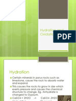 hydration and oxidation slide show ppt