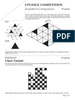 PQRST 06 PUZZLE COMPETITION
