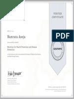 Coursera Nutrition 2014