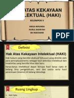 Hak Atas Kekayaan Intelektual (Haki) Fix