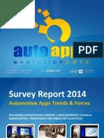 Auto Apps 2014_Survey Report