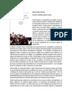 Híjar Serrano, Alberto - Estética, Rebeldía y Gente Común