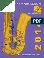 Gia Music Ed Catalog 2014